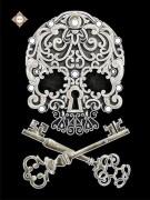 Схема для вышивки бисером на атласе Магические ключи бессмертия