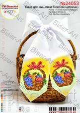 Бант для вышивки бисером (нитками) На праздник спаса Biser-Art В24053