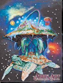 Набор для вышивки бисером на холсте Вселенная, , 471.00грн., AB-633, Абрис Арт, Пейзажи