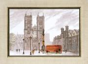 Набор для вышивки крестом Лондон. Вестминстерское аббатство