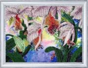 Набор для вышивки бисером Сияние орхидей