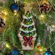 Набор для вышивки бисером по дереву FLK-389