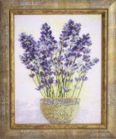 Набор для вышивки крестом Лаванда, , 192.00грн., М-277, Чарiвна мить (Чаривна мить), Цветы