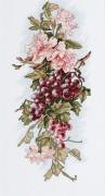 Набор для вышивки крестом Композиция с виноградом