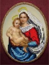 Набор для вышивки ювелирным бисером Сикстинская мадонна 1 Краса и творчiсть 51015