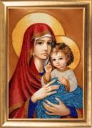 Набор для вышивания бисером Мадонна с Иисусом