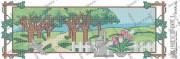 Схема вышивки бисером на атласе Панно Времена года. ВЕСНА