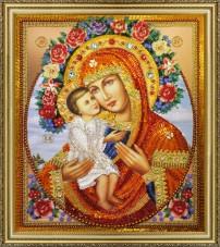 Набор для вышивки бисером Жировицкая икона Божьей Матери Картины бисером Р-286
