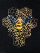 Набор для вышивки в смешанной технике Пчелиный рай