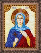 Набор для вышивки бисером Святая Марта