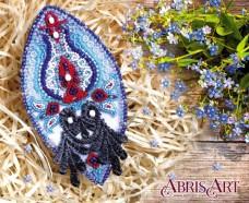 Набор для вышивки бисером украшения на натуральном художественном холсте Восточный мотив Абрис Арт AD-013