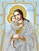 Схема для вышивки бисером на атласе Богородица Взыскание погибших