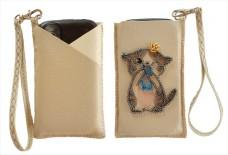 Чехол для телефона для вышивки бисером Котенок Баттерфляй (Butterfly) LB 064