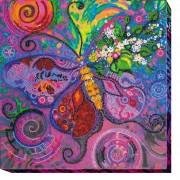 Набор для вышивки бисером Полет бабочки