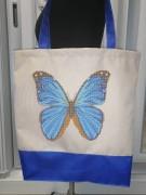Эко сумка для вышивки бисером Мальвина 30