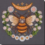 Набор-миди для вышивки бисером на натуральном художественном холсте Медовый сон