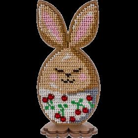 Набор для вышивки по дереву Пасхальный кролик