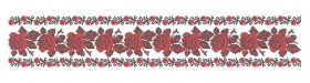 Заготовка для вышивки женского пояса на атласе ПЖ 12 Юма ЮМА-ПЖ-12 - 184.00грн.