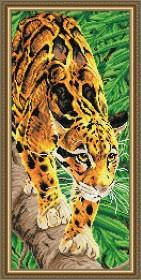 Набор для выкладки алмазной техникой Дымчатый леопард