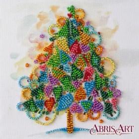 Набор-мини для вышивки бисером на натуральном художественном холсте Сердце праздника Абрис Арт AM-205 - 102.00грн.
