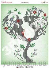 Схема вышивки бисером на атласе Дерево Любви Юма ЮМА-3195 - 62.00грн.