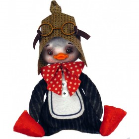 Набор для шитья мягкой игрушки Пингвинчик