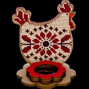 Набор для вышивки бисером по дереву Курочка