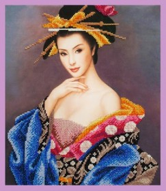 Набор для вышивки бисером Очарование Азии, , 462.00грн., Р-323, Картины бисером, Наборы и схемы для вышивки бисером и нитками Восток