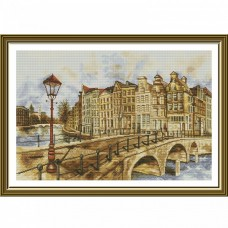 Набор для вышивки крестом Амстердам Новая Слобода (Нова слобода) РЕ3501