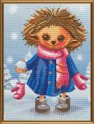 Набор для вышивки крестом Снежки