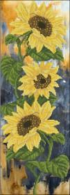 Набор для вышивки крестом Цветок солнца 1
