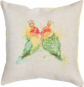 Набор подушки для вышивки крестом Попугаи Luca-S РВ145 - 354.00грн.