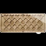 Органайзер для бисера с крышкой FLZB-095