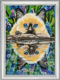 Набор для вышивки бисером Отражение в воде Баттерфляй (Butterfly) 646Б - 621.00грн.