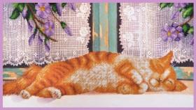 Набор для вышивки бисером Рыжий кот Картины бисером Р-351 - 410.00грн.