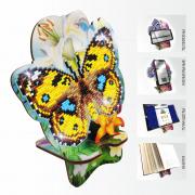 Подставка под телефон с алмазной мозаикой Бабочка и Лилии