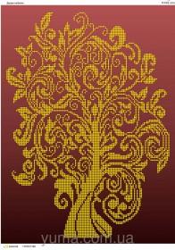 Схема вышивки бисером на атласе Дерево изобилия Юма ЮМА-3143 - 62.00грн.