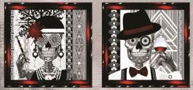 Схема для вышивки бисером на атласе Вечная любовь Диптих Миледи СЛТ-2215 - 198.00грн.