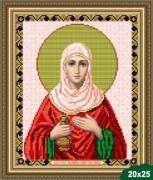 Рисунок на ткани для вышивки бисером Св. Иоанна (Яна)