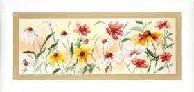 Набор для частичной вышивки крестом  Красочные цветы, , 355.00грн., РК-110, Чарiвна мить (Чаривна мить), Цветы