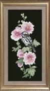 Набор для вышивания нитками Птицы 3