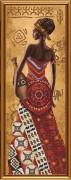 Набор для вышивки бисером Африканка с кувшином