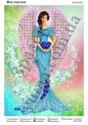 Схема вышивки бисером на атласе Фея счастья