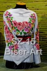 Заготовка для вышивки бисером Сорочка женская Biser-Art Сорочка жіноча SZ-15 (габардин)