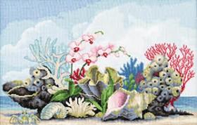 Набор для вышивки крестом Коралы