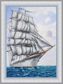 Набор для вышивки бисером Парусник Картины бисером P-404 - 725.00грн.