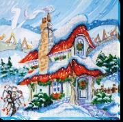 Набор для вышивки бисером Сказочная зима 2