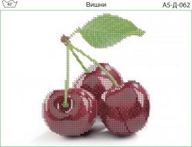 Схема для вышивки бисером на габардине Вишни Acorns А5-Д-062 - 30.00грн.