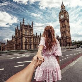 Набор для выкладки алмазной мозаикой Следуй за мной: Лондон