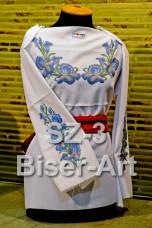 Заготовка для вышивки бисером Сорочка женская Biser-Art Сорочка жіноча SZ-3 (габардин)